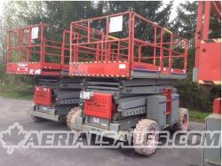 SKYJACK 8841 rough terrain scissorlift