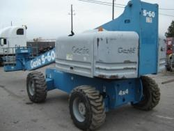 GENIE S-60 telescopic manlift