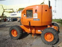 JLG 450A articulating manlift