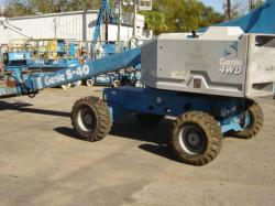 GENIE S40 straight stick boomlift